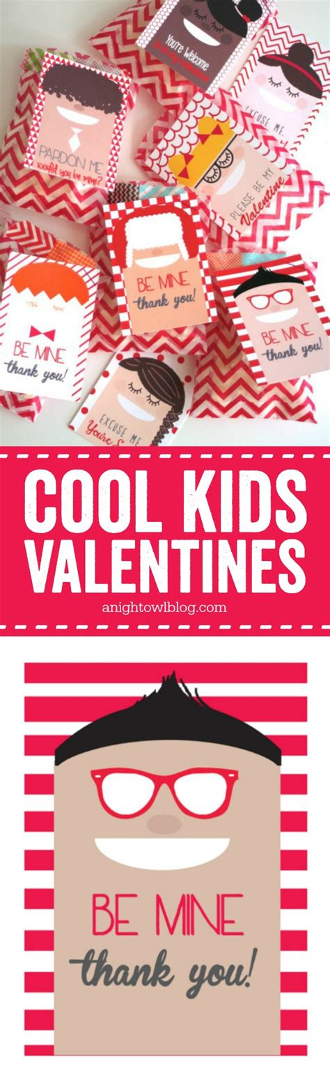 cool valentines cool s day printables a owl