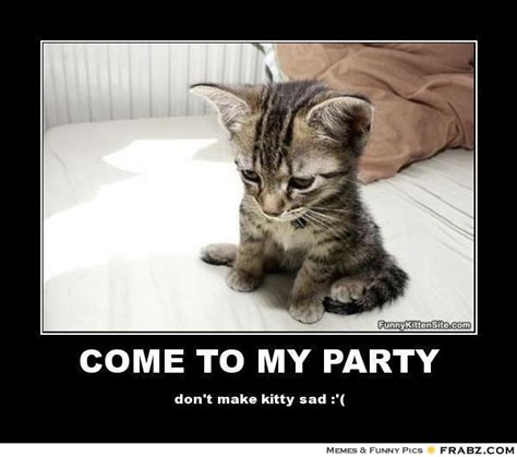 Kitten Meme - sad kitty i miss you www pixshark com images galleries