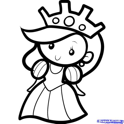 Drawing Images For Kids | queen http www dragoart com tuts 10954 1 1 how to draw a