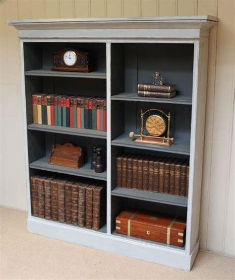 edwardian painted bookcase 223765 sellingantiques co uk