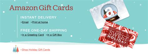 Amazon Gift Card At Walgreens - last minute gift idea top 20 most wanted gift cards this year free shipping by