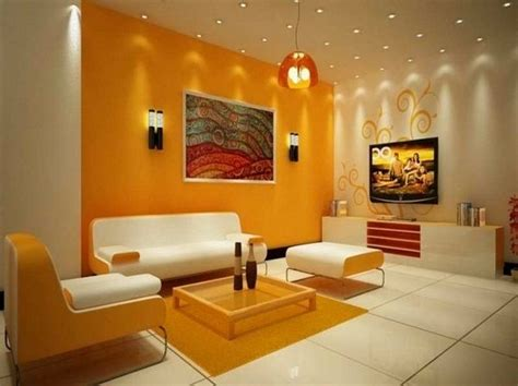 colour combination for walls wall color combinations orange wall white furniture http 1decor net creative