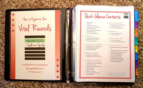 Birth Record Professional Organizer Utah Professional Organizer Organizing Tips By Organizing
