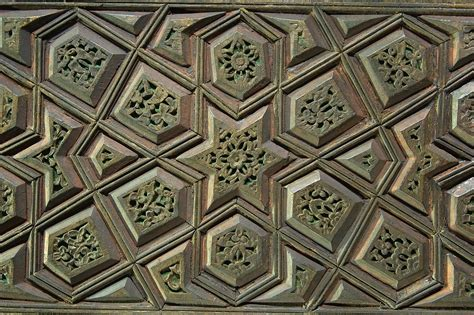 pattern design qatar photo 835 25 carved wood panel with a geometric pattern