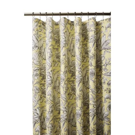butter yellow curtains home decorators collection lillian 72 in butter yellow
