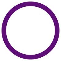 Blindness Summary File Purple Circle 100 Svg