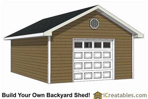 garage shed plans build   large shed
