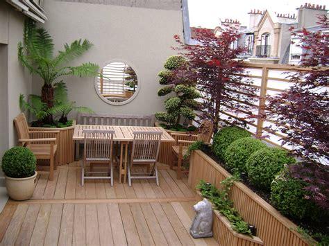 Decoration Cour Exterieur Maison by Idee Deco Cour Exterieur Avec Am Nagement Cour Ext Rieure