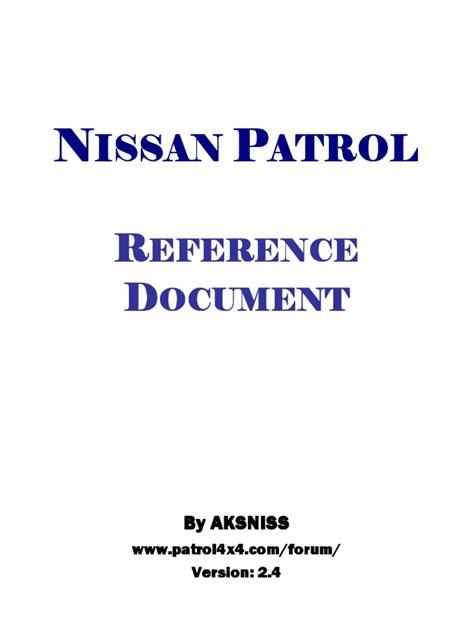 nissan patrol y61 wiring diagram 2013 nissan patrol y61