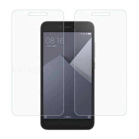 Tempered Glass Xiaomi Redmi Y1 Note 5a Screen Protector dayspirit gehard glas screen protectors voor xiaomi redmi y1 lite redmi note 5a 2gb 16gb