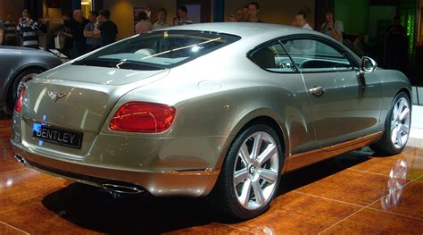 bentley rear file bentley continental gt rear quarter jpg wikimedia