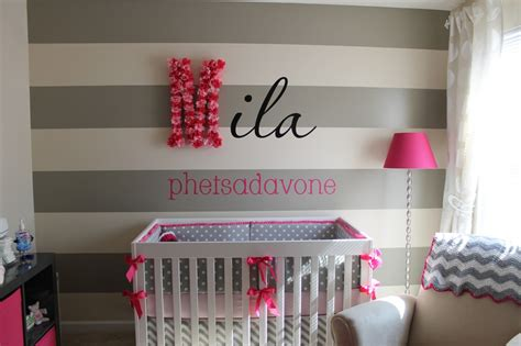 pink and grey toddler room most viewed nurseries of 2012