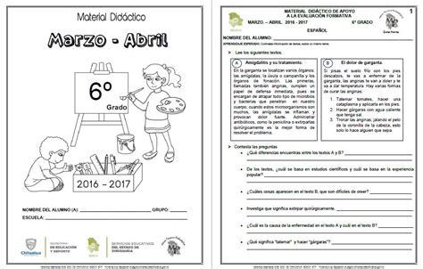 preguntas abiertas de matematicas sexto grado material de apoyo del sexto grado para el cuarto bloque