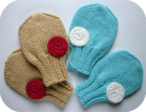 knitting pattern baby mittens free knitting patterns for baby mittens double knit on