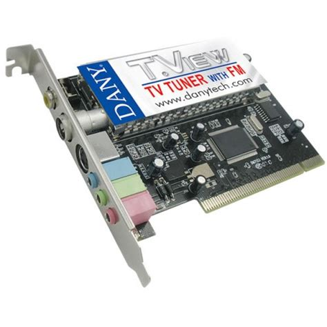 Tv Tuner Card dany t view with fm tv tuner card price in pakistan dany