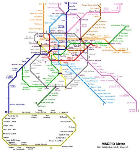 madrid metro map madrid metro map planning transit