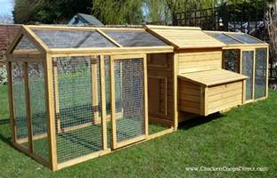 hen house with large run
