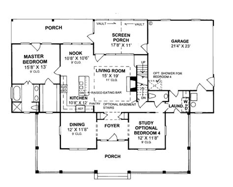 house plans under 2000 square feet first floor plan of country house plan 68178 under 2000