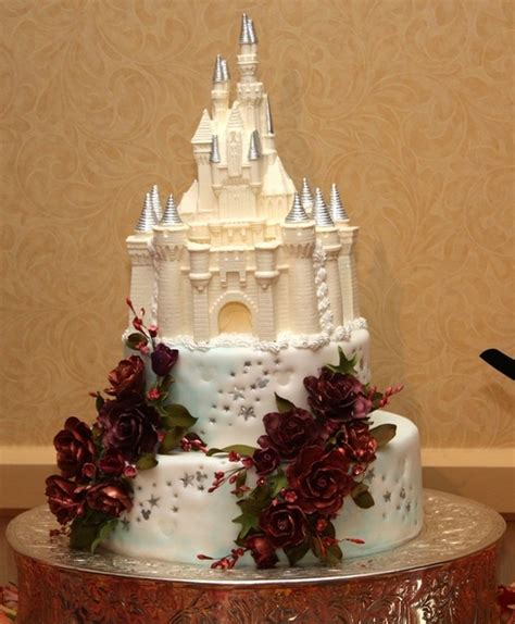 Disney Wedding Cake by 5 Enchantingly Amazing Disney Wedding Cakes Themes