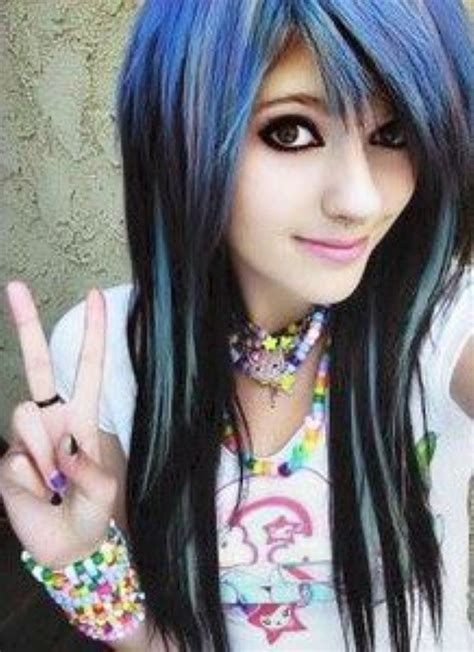 emo hairstyles on pinterest cute emo hairstyles for long hair hair styles i want