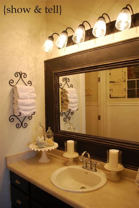 bathroom picture frame ideas best 25 frame bathroom mirrors ideas on pinterest