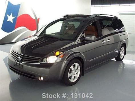 nissan quest sunroof buy used 2007 nissan quest 3 5 se sunroof leather dvd rear