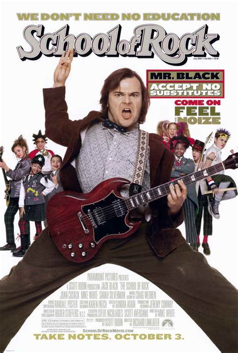 film rock it school of rock movie quotes quotesgram