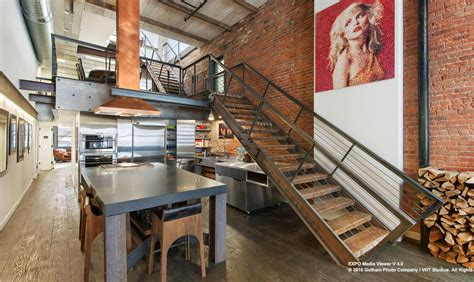 Luxury Homes Pictures Interior 5m penthouse loft in tribeca flaunts steel copper and