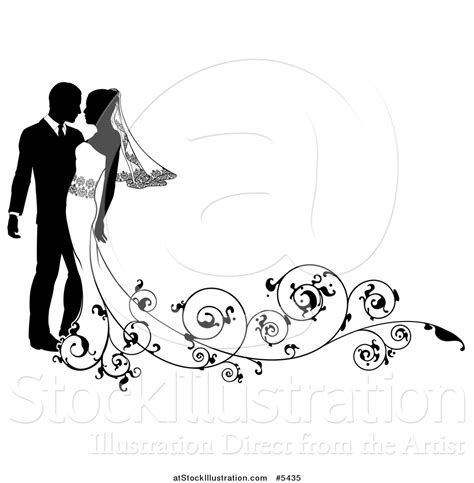 Wedding Clipart Vector by Clipart Wedding Vector Pencil And In Color