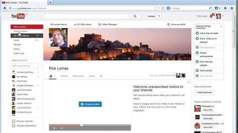 web design html youtube how to link your youtube channel to your website youtube