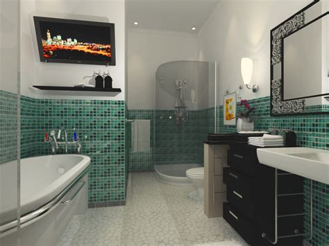 Large Bathroom Designs by 35 Seafoam Green Bathroom Tile Ideas And Pictures