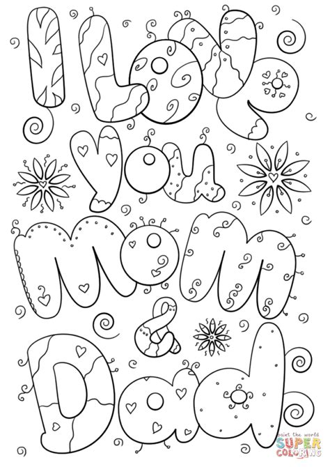 I Love U Mom Coloring Pages Snap Cara Org I You And Coloring Pages