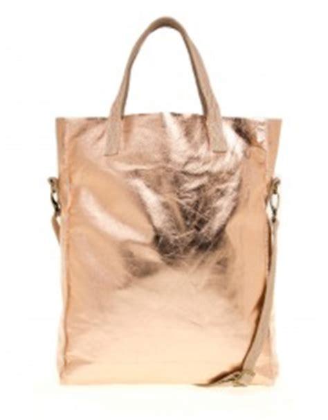 Pengait Tas Rosegold label 88 tas shopper gold