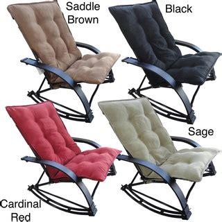 sofa with extendable footrest international caravan indoor outdoor folding rocking