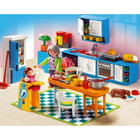 play mobile playmobil grande mansion kitchen 5329 163 20 00 hamleys