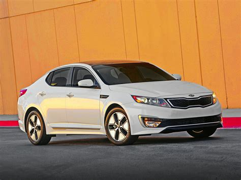 Kia Optima Hybird 2013 Kia Optima Hybrid Price Photos Reviews Features