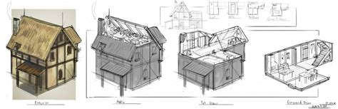 Cool Houseplans Medieval House Concept By St Pete On Deviantart