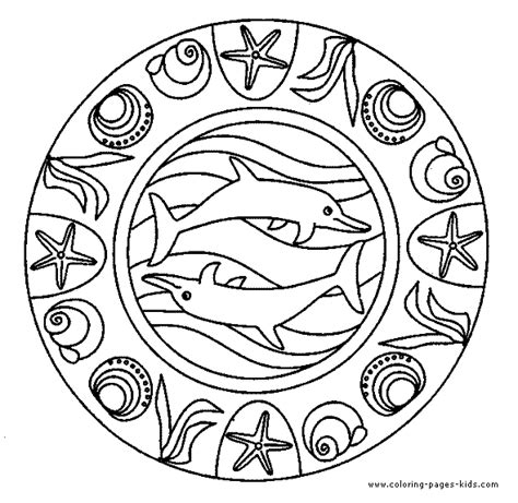 hippie mandala coloring pages american hippie art coloring pages mandala dolphin