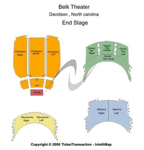 belk theatre seating plan cheap belk theatre at blumenthal performing arts center