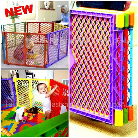 play pen new childrens 1856695247 indoor outdoor baby safety play center playpen kids panel yard home pen fun new ebay