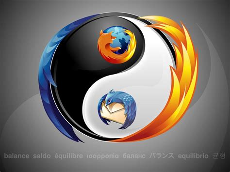 ying yang firefox images icons wallpapers and photos on fanpop