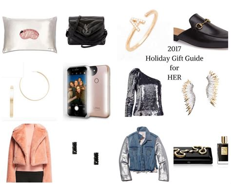 affordable holiday gift guide for her just a trace holiday gift guide for her clark and stone