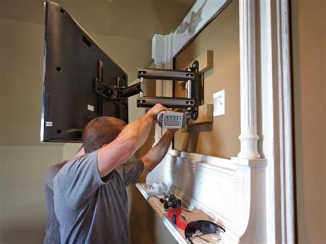 tv window mount how to build a tv wall mount frame how tos diy