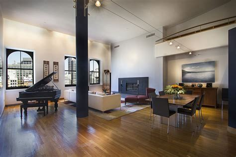 New York Loft Interior Design Tribeca Apartment Design Interior Design Nyc Apartment
