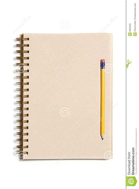 How To Make Organic Paper - organic paper notebook stock photography image 9022322