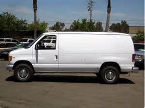2001 ford econoline cargo information and photos