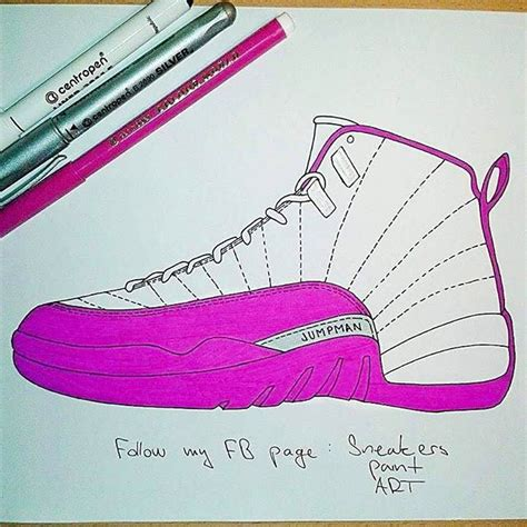 how to draw basketball shoes air boy dope on instagram