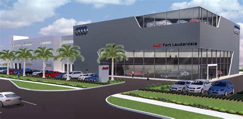 Audi Dealership by New Audi Dealership Contruction In Fort Lauderdale