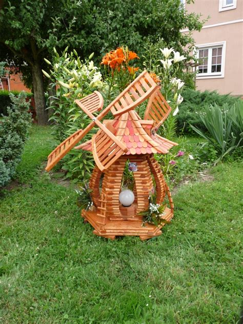 Windmills For The Garden Yes Shed Plan Buy Wooden Garden Windmill Plans