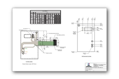 membrane layout design number membrane switch design guide electrical layout and